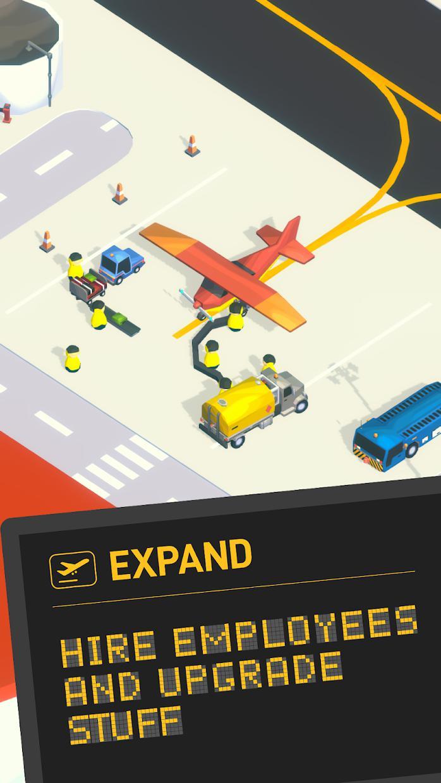 空港大亨(Airport Inc. Idle Tycoon Game) 游戏截图3